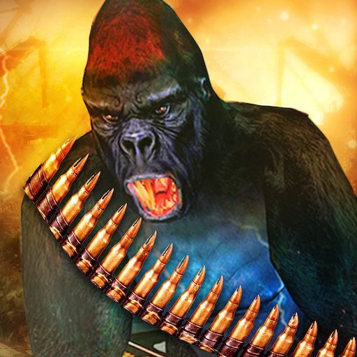 Grand Apes Age VS Superhero Robots Survival War 3D