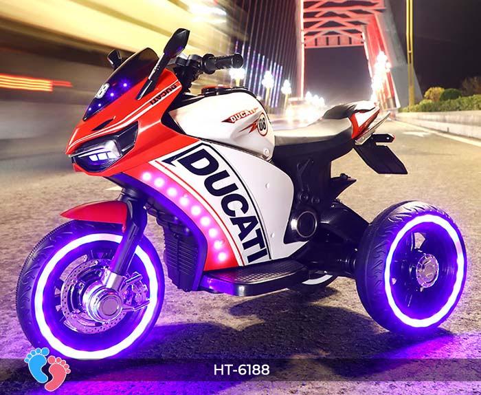 Xe mô tô điện thể thao Ducati HT-6188 8