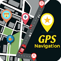 GPS Navigation:Route Planner & Location Tracker icon