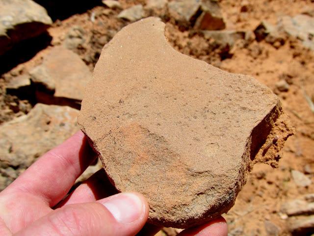 Possible broken grinding stone
