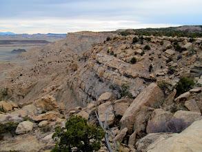 Photo: Coal/Limestone Cliffs