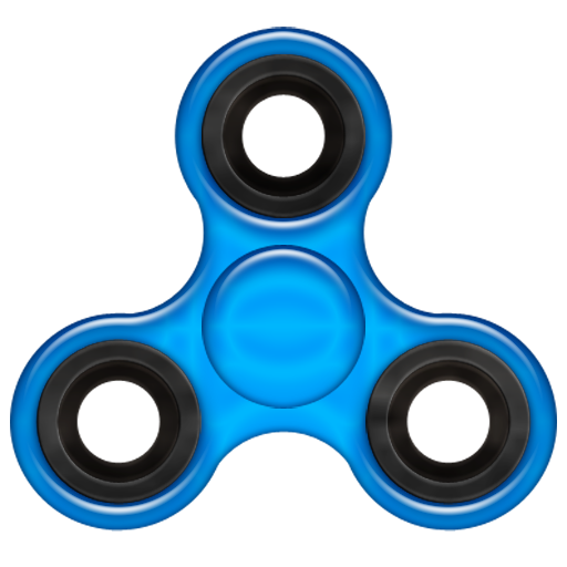 Finger Spinner Widget with RPM
