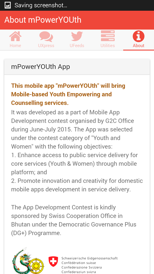 mPower Youth- screenshot