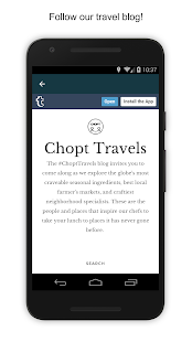 CHOPT- screenshot thumbnail