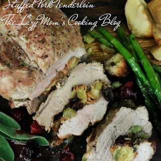 Thanksgiving Day Stuffed Pork Loin with Autumn Stuffing