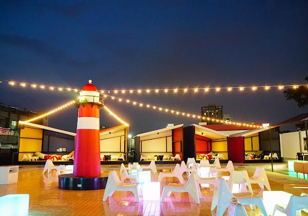 都市秘境紅燈塔夜景~高雄最浪漫景觀餐廳-海洋微光Ocean Light