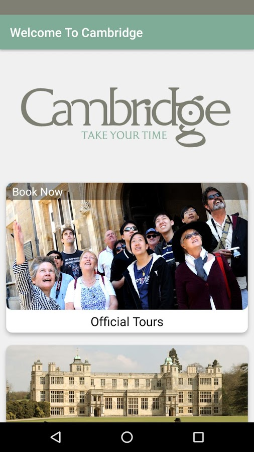 Visit Cambridge: Official Guide- screenshot