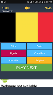 World Flags Scratch Quiz - náhled