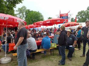Photo: Das Café K immer voll besetzt! Foto: I.Lang