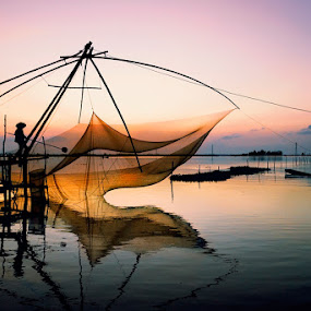 Dawn by Huynh Phuc Hau - Landscapes Sunsets & Sunrises ( sunrise )