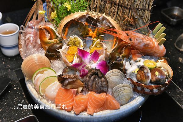 囍聚精緻鍋物,頂級食材真材實料,海鮮超青湯頭清爽鮮美!