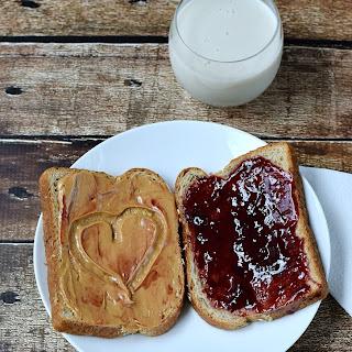 Peanut Butter & Jelly Sandwich.