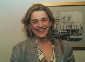 """Photo: Ewa Froling - spotkanie w """"Dramaten"""" w Sztokholmie."""