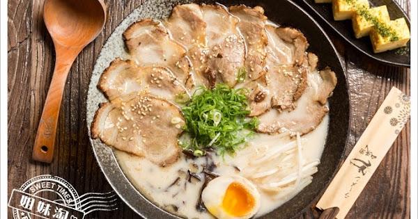 加麵不加價!超大份量的道地日式拉麵就連大胃王也吃不消-山禾堂拉麵