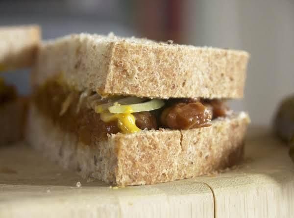 Can You Believe (grandpa's Baked Bean Sandwich) Recipe
