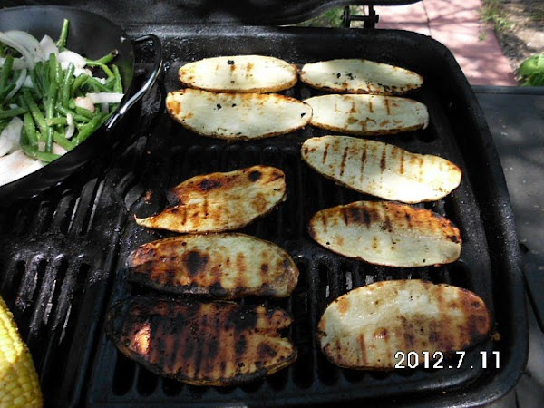 Grill for about 20-30 min. turning once.