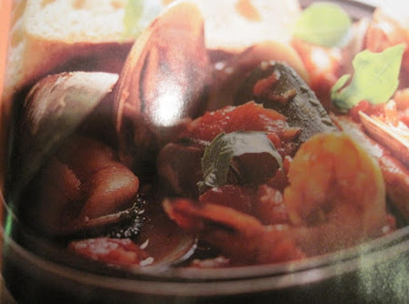 Mussels, Clams and Shrimp in Spicy Tomato Sauce by Rose Recipe