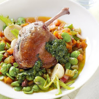 Spring Cassoulet With Pistou
