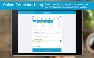 Screenshot of Arztsuche jameda