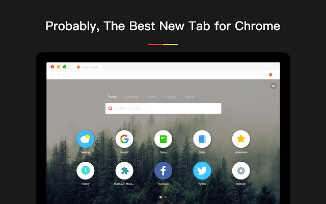 Infinity New Tab (Pro) - Chrome Web Store