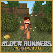 Block Runner: Forest