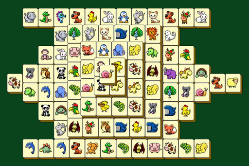 Mahjong Solitaire Animal Screenshot
