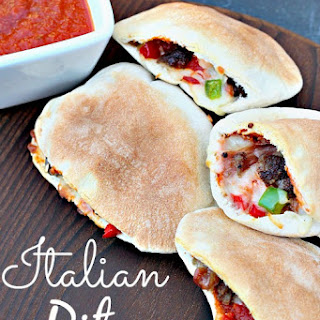 Homemade Italian Pita Pockets