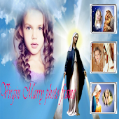 Mother Mary Photo frame