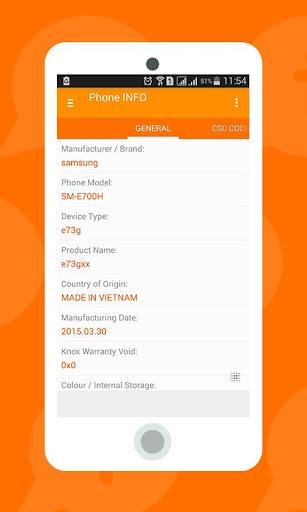 SS Device Info Phone Checker