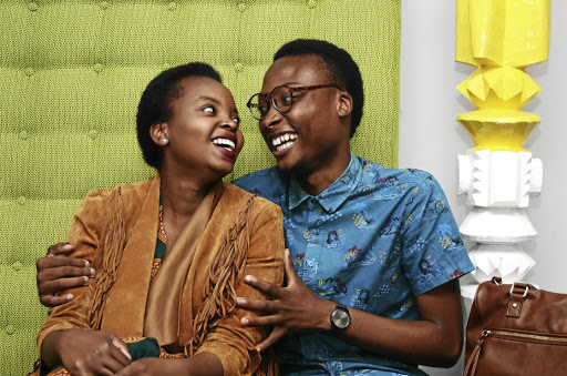 Zwelethu Mambane and Nkateko Macina are a couple that believes in no particular conformity.