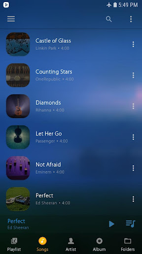 Music Player 1.1.0 screenshots 1
