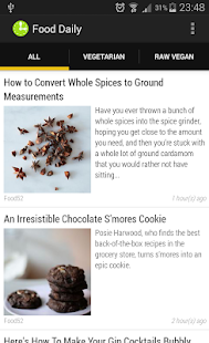 Food Daily- screenshot thumbnail
