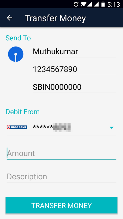 Cointab - BHIM UPI Money Transfer, Bank Balance- screenshot