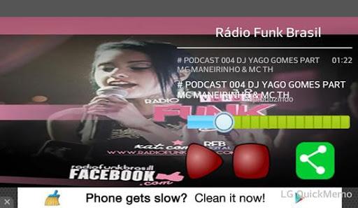 Rádio Funk Brasil screenshot 2