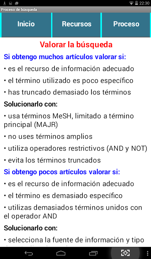 Recursos MBE- screenshot