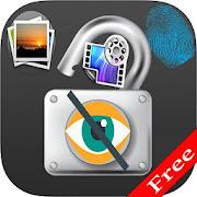 Hide Photo and Video Vault With Fingerprint Locker