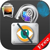Hide Photo and Video Vault With Fingerprint Locker