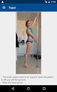 Pole Power App: dance fitness- screenshot thumbnail