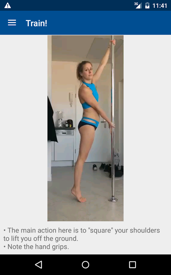 Pole Power App: dance fitness- screenshot