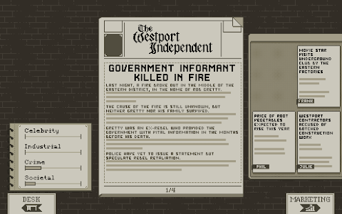 The Westport Independent Screenshot