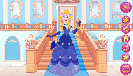 玩免費教育APP|下載Queen dress up in frozen land app不用錢|硬是要APP