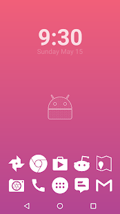Stamped White Icons Screenshot 4