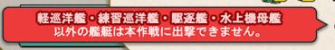 艦これ 6-3 警告画像