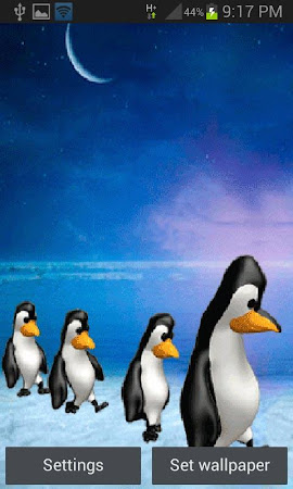 Penguins Live Wallpaper 2 Screenshot 1328891