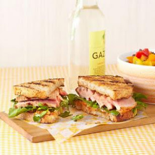 Grilled Tuna Sandwich with Lemon-Chili Mayo for Two