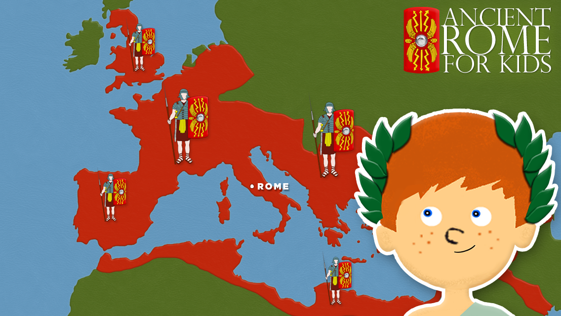 Ancient Rome Free Android Apps On Google Play - Rome map cartoon