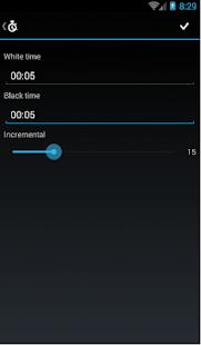 Free Chess Clock screenshot