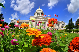 Photo: Hot off the press. Arkansas State Capitol  Lifted from a time-lapse sequence. Just pulled the camera in after a couple hours of clicking. Cannot wait to put this one together. (though it may yet be weeks. ) Think I may use Ode to Joy for background music, cause these sequences are just kicking joy.  #arkansas  #arkansasphotographer