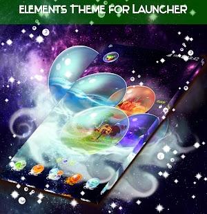 Témata prvků pro Launcher - náhled