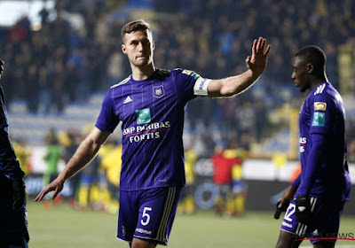 Spajic remercie Anderlecht et ses supporters